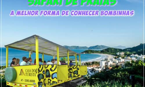 Safári de Praias - A  melhor forma de conhecer Bombinhas