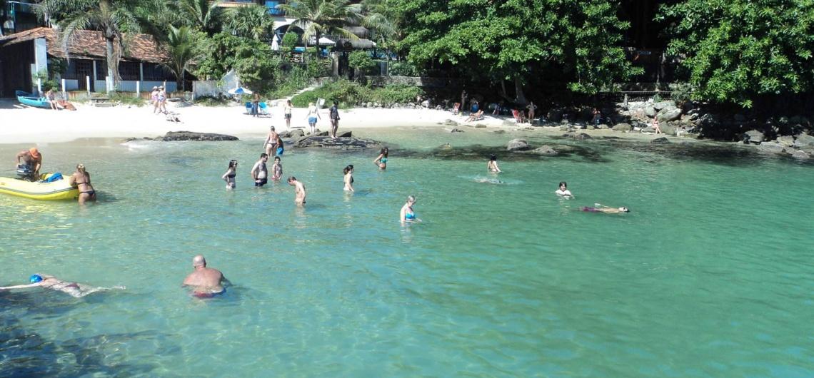 Praias de Bombinhas - SC - Prainha