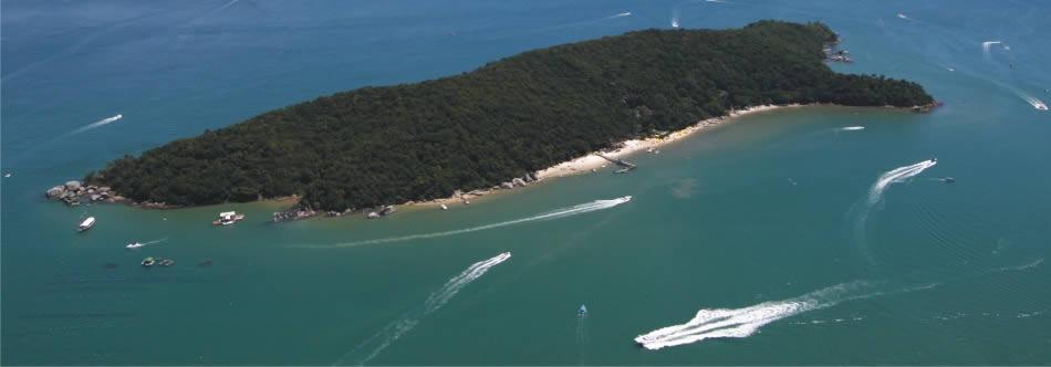 Ilha de Porto Belo: um paraíso privado aberto à visitação