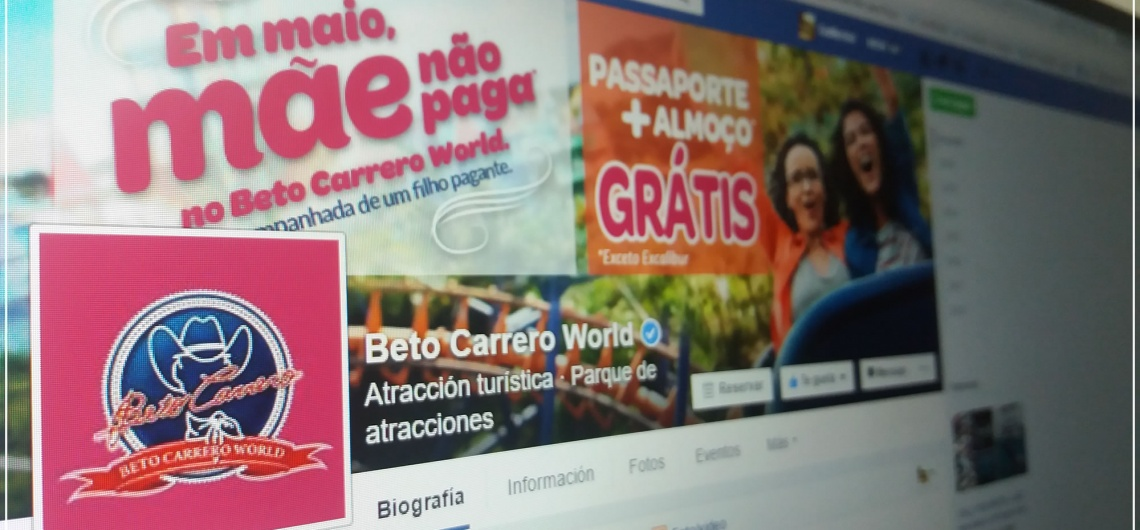 Beto Carrero é o lugar mais comentado do Brasil em 2015 no facebook