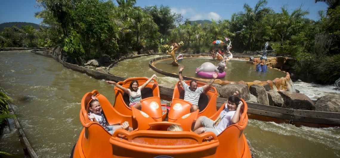 Conheça o Crazy River, do Parque Beto Carrero World