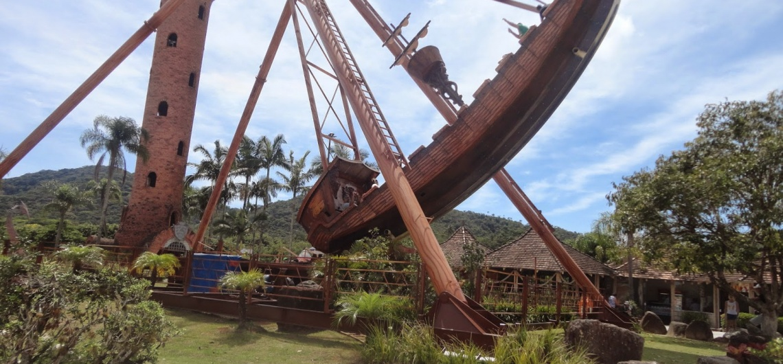 Conheça o Barco Pirata, no Beto Carrero World | Casa do Turista