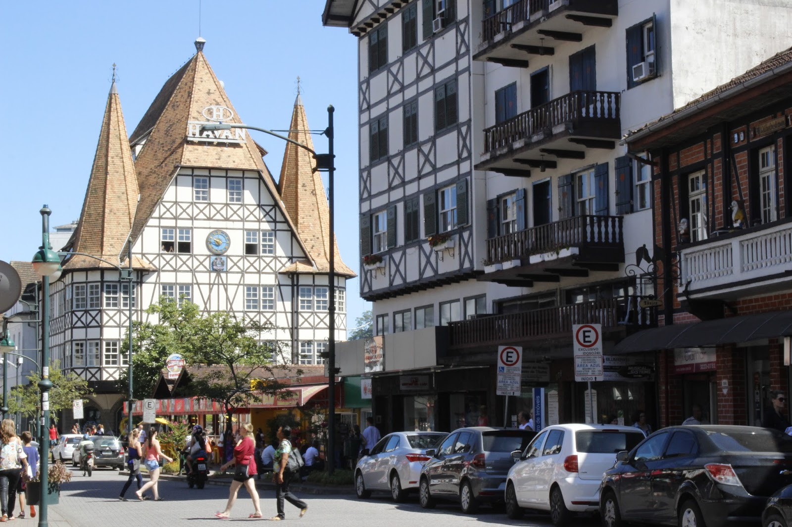 XV de Novembro: a rua mais alemã de Blumenau   Casa do Turista
