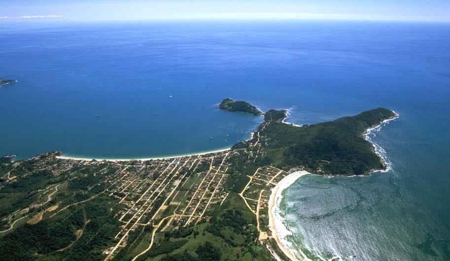 Foto Aerea Imagens de Bombinhas - Quatro Ilhas - Aureo Berger