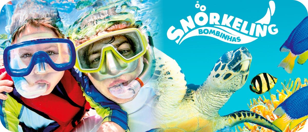 Experimente una de las mas bellas experiencias del litoral catarinense: Snorkeling en la Playa de Sepultura