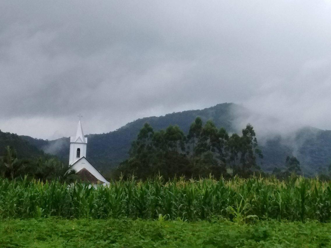 Trecho do roteiro de peregrinação Caminhada de Madre Paulina