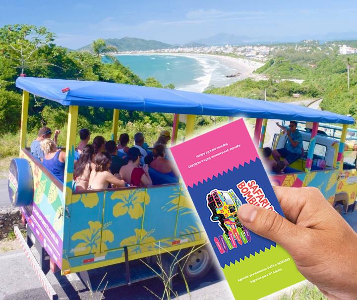 Safári de Bombinhas - Conhecer as Praias de Bombinhas