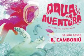 Bombinhas com Aqua Aventura na Praia da Sepultura, Bombinhas