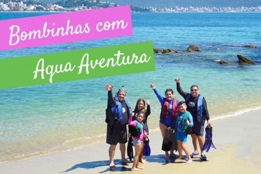 Tour Bombinhas com Aqua Aventura