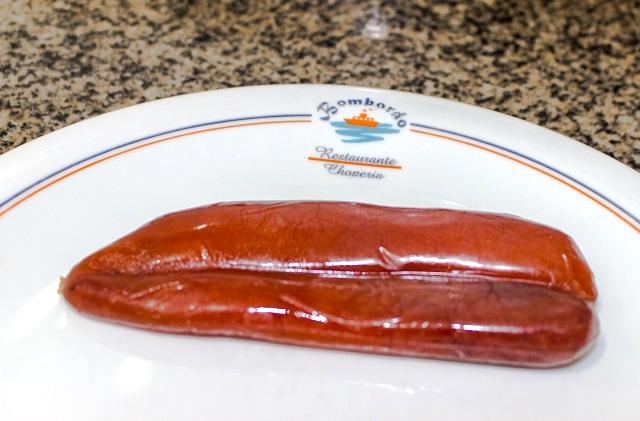 A ova de tainha desidratada é a base para o caviar de Bombinhas. Fonte: Features Design.