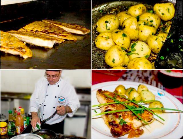 Etapas do preparo do prato caviar de Bombinhas no Restaurante Bombordo. Fonte: Features Design.