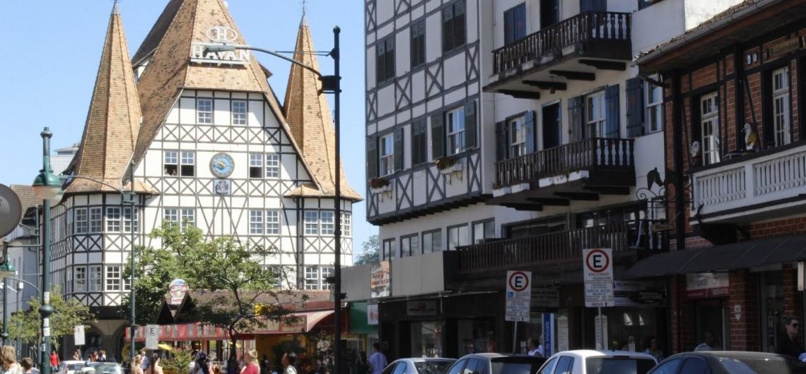 Construções históricas em Blumenau