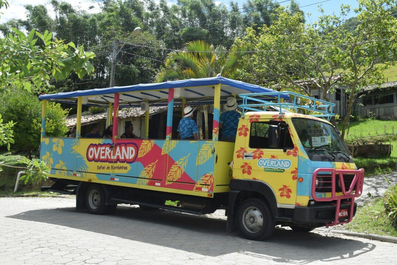 Overland – Safari de Bombinhas. Fonte: Casa do Turista.