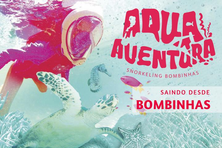 Aqua Aventura – o mergulho de snorkeling na Praia da Sepultura em Bombinhas