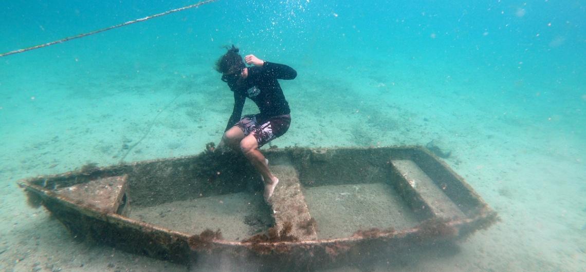 Experiência de Diego Carrera Bravo, Monitor do Aqua Aventura