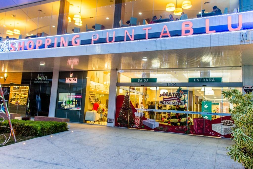 Shopping Punta Blu é um dos melhores destinos para compras em Bombinhas. Fonte: Features Design/Punta Blu.