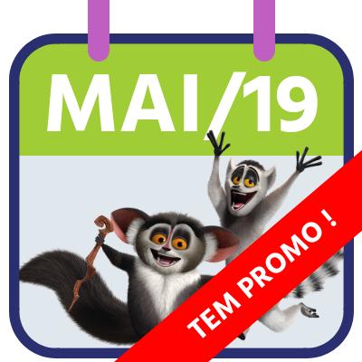 Pacotes Beto Carrero para Maio 2019