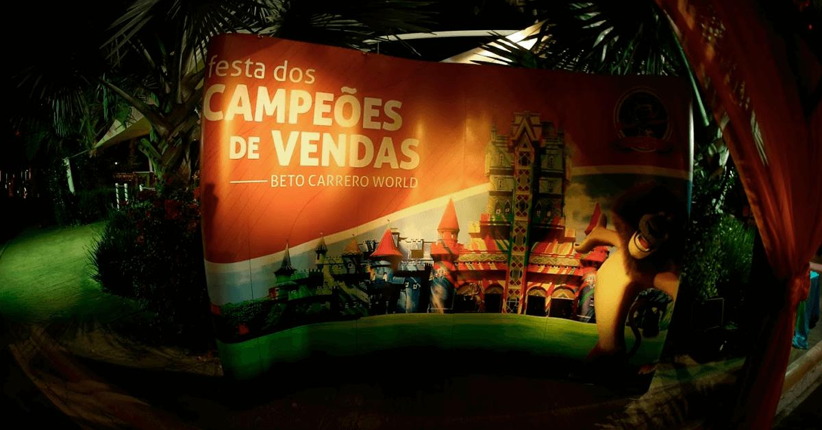 Prêmio Campeões de vendas Beto Carrero World 2018