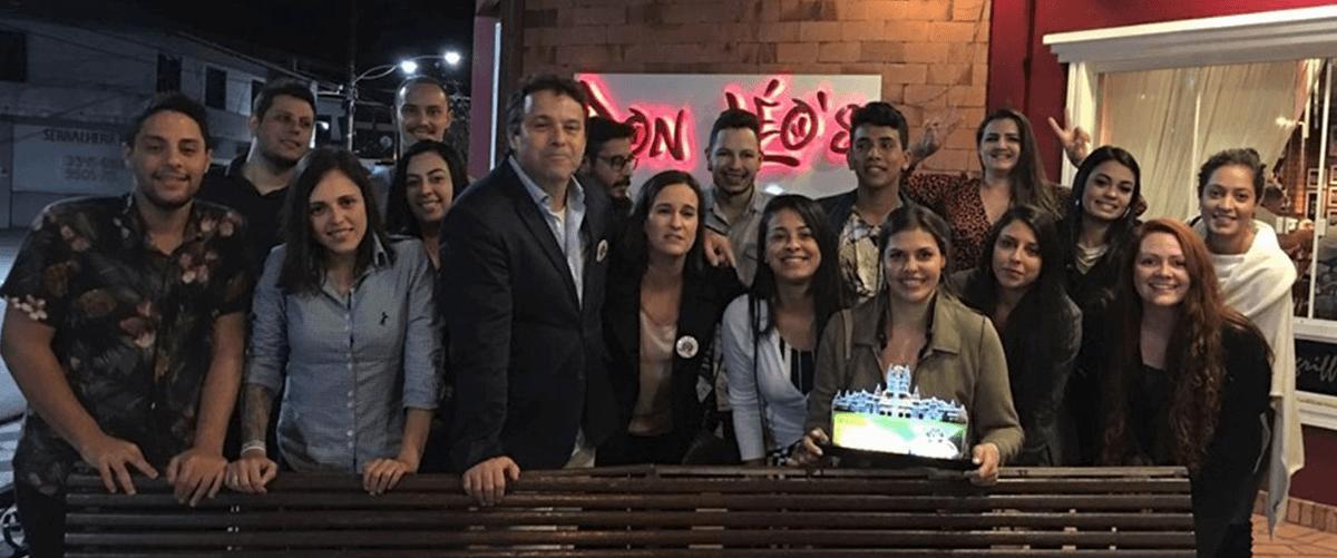 Equipe Casa do Turista no prêmio Campeões de Vendas 2018