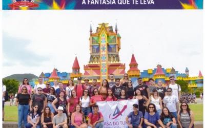 Parque Beto Carrero recebe o famtour Casa do Turista