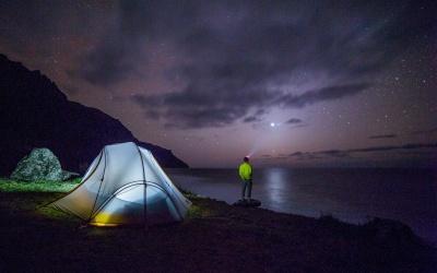 Melhores lugares para acampar em Florianópolis